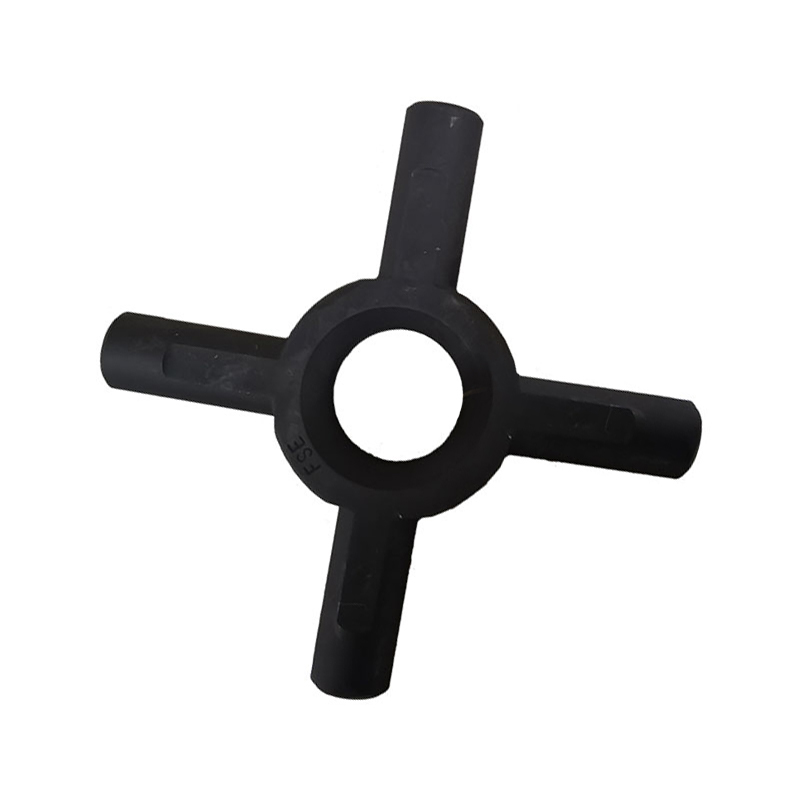 Black Steel Universal Joint Crossing Shaft